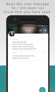 screenshot of Message Peeping Tom version 2.1.4.86.171202