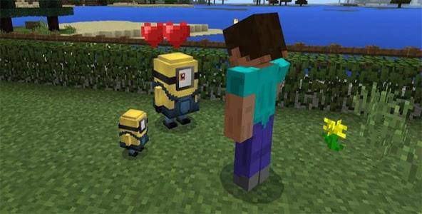 Download Minion addon for Minecraft 1.0.16 APK