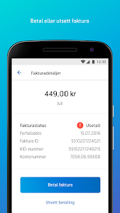 screenshot of Mitt Telenor version 5.1.0 (4391)