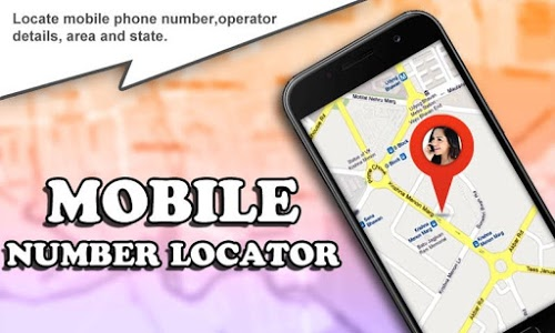 screenshot of Mobile Number Location Tracker version 3.2