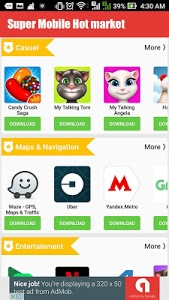 screenshot of Super Mobile Hot Apps Market version 1.0.3