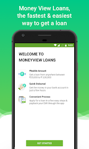 screenshot of Money View Loans - Personal Loan version KOI-7711.68