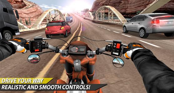 Download Moto Rider In Traffic 1.0.8.4 APK