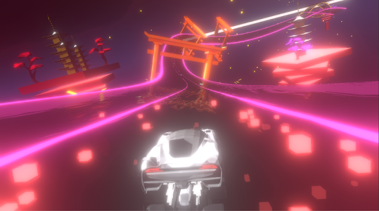 screenshot of Music Racer version 2.08