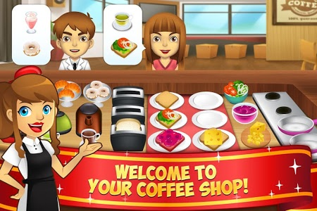 Download My Coffee Shop - Coffeehouse Management Game  APK