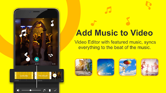 screenshot of Video Editor for Youtube, Music - My Movie Maker version 4.2.3