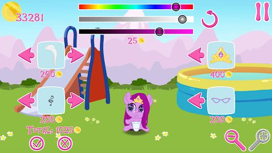 screenshot of My Pocket Pony version 1.24