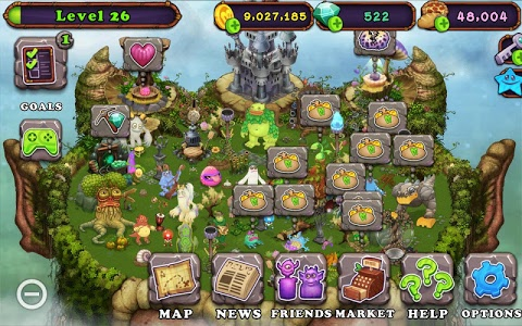 screenshot of My Singing Monsters version 2.1.1