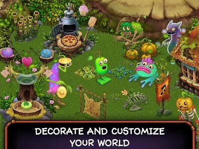 screenshot of My Singing Monsters version 2.0.9
