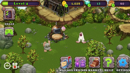 screenshot of My Singing Monsters version 2.2.1