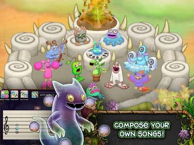 screenshot of My Singing Monsters version 2.0.3