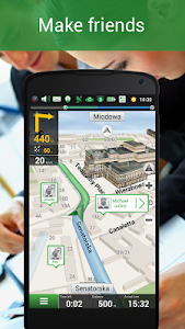 screenshot of Navitel Navigator GPS & Maps version 9.5.399