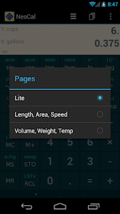 Download NeoCal Lite Calculator 2.0.6 APK