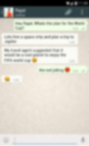 screenshot of New Whatsapp Messenger Tips version 1.0