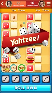 screenshot of New YAHTZEE® With Buddies Dice Game version 5.6.0