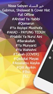 screenshot of Nissa Sabyan خير النساء Gambus Offline version 1.1