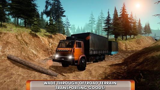 screenshot of Offroad Truck Simulator 3D version 1.2