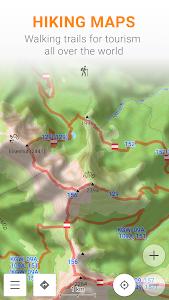 screenshot of OsmAnd — Offline Travel Maps & Navigation version Varies with device