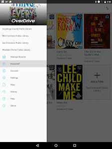 screenshot of OverDrive version 3.6.2