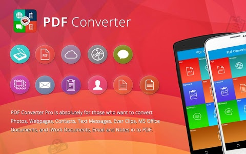 screenshot of PDF Converter:Documents To PDF version 1.20
