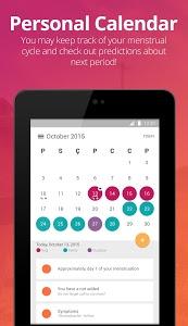 screenshot of Pepapp - Period, PMS, Ovulation Tracker version 3.1.9