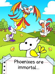 screenshot of Phoenix Evolution - Create & Merge Legendary Birds version 1.0.2