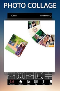 screenshot of Photo Collage Art version 1.5