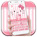 Download Pink Kitty Bowknot Keyboard 10001004 APK