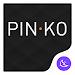 Black simple business -APUS Launcher free theme