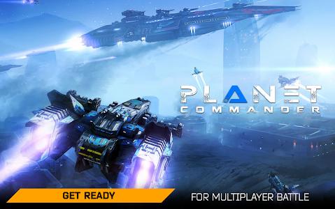 screenshot of Planet Commander version 1.1