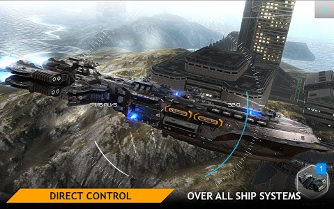 screenshot of Planet Commander: Spaceship Battles version 1.2