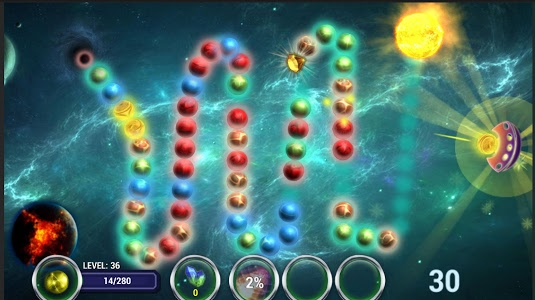 Download Planet Zum. Balls Line 2.8 APK