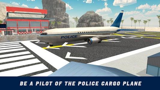 screenshot of Police Plane Flight Simulator version 1.2.0