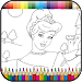 Download Princess coloring kids paint 1.2 APK