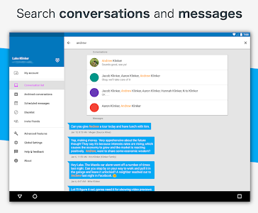 screenshot of Pulse Messenger - SMS on a PC version Varies with device
