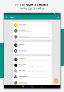 screenshot of Pulse SMS (Phone/Tablet/Web) version 3.0.0.2100
