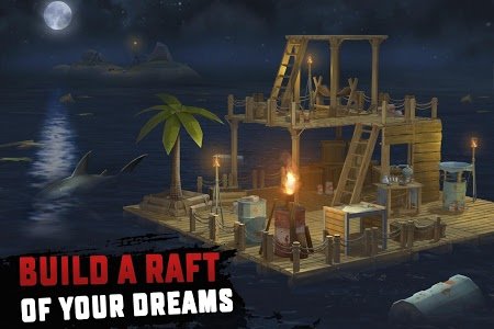 screenshot of RAFT: Original Survival Game version 1.49