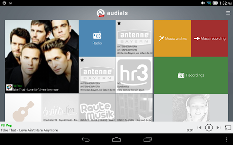 Download Radio Player, MP3-Recorder by Audials  APK