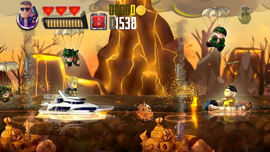 screenshot of Ramboat - Offline Jumping Shooter and Running Game version 3.19.3