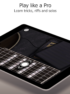 screenshot of Real Guitar: Chords, Tabs Free version Varies with device