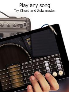 screenshot of Real Guitar Free - Chords, Tabs & Simulator Games version 3.10.0