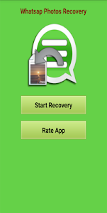 screenshot of Recovery Whatsap Photos Guide version 1.0