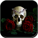 Download Red Rose Skull Theme 1.1.4 APK