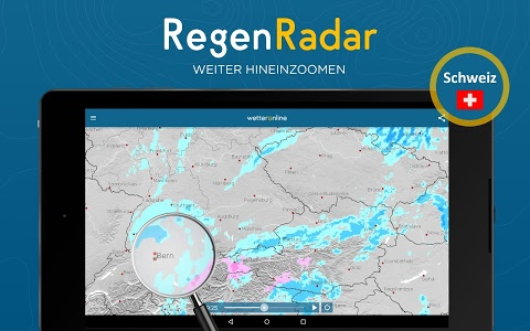 screenshot of RegenRadar version 4.32.4