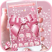 Download Rose Gold Diamond Bow Theme 1.1.9 APK