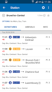 Download SNCB National: train timetable/tickets in Belgium 4.1.3 (20) APK