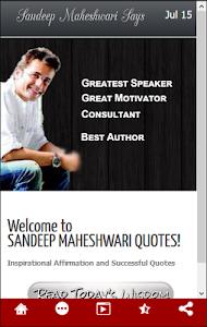 Download Sandeep Maheshwari Quote 1 1 Apk Downloadapk Net