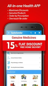 screenshot of SastaSundar-Genuine Medicine, Pathology Doctor App version 3.5.9