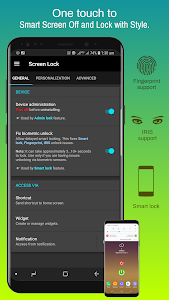 screenshot of Screen Lock version v4.5f