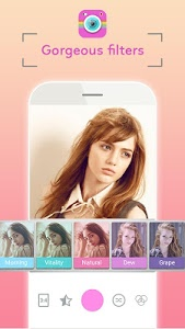 screenshot of Selfie Camera HD & Stick version 1.0.3